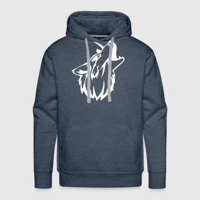 Tribal Wolf Gym Workout MMA Bodybuild - Men's Premium Hoodie