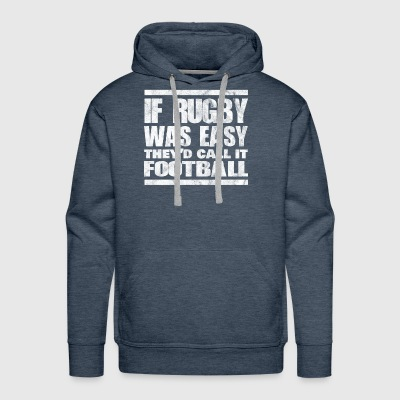 Shirt for rugby player as a gift - Men's Premium Hoodie