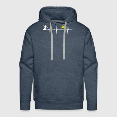 Swedish Soccer Player Football - Men's Premium Hoodie