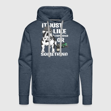 Broken Controller Dog - Men's Premium Hoodie