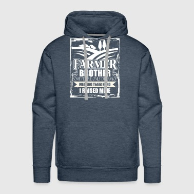 Farmer Brother T Shirt - Men's Premium Hoodie