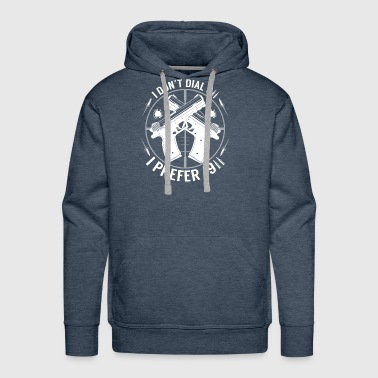 I Dont Dial 911 I Prefer 1911 Handgun 2nd Amendmen - Men's Premium Hoodie