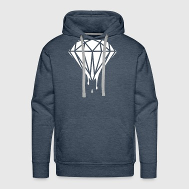 Diamond Dripping Blood Celine Homies Dope - Men's Premium Hoodie