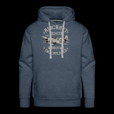 Aircraft Fighter Exclusive T-shirt Limited Edition - Men's Premium Hoodie