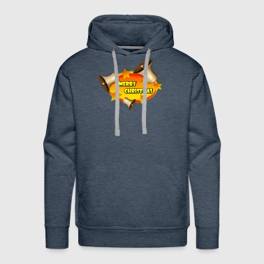 Merry Christmas Bells - Men's Premium Hoodie