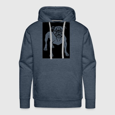 Angry Animal Canine Dog Mammal Mean 2026582 - Men's Premium Hoodie