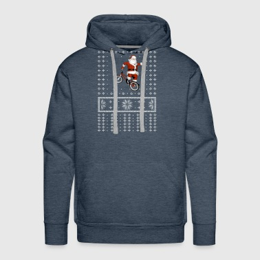 BiCYCLE Ugly Sweater For Christmas XCLUSIV - Men's Premium Hoodie