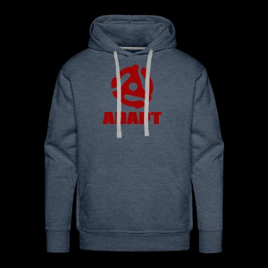 ADAPT DARK RED - Men's Premium Hoodie