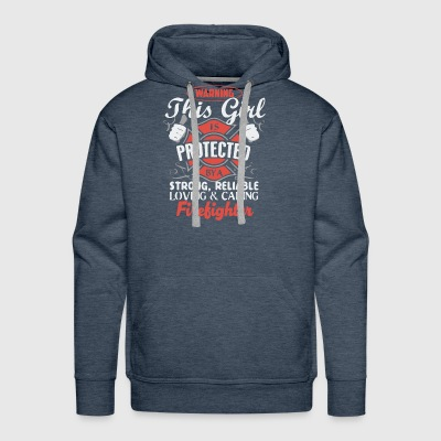 Protect by a Firefighter - Men's Premium Hoodie
