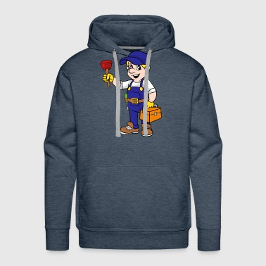 Gas and water fitter - Men's Premium Hoodie
