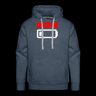 Funny Mom Battery - Men's Premium Hoodie