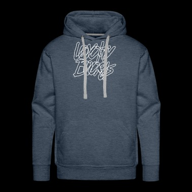 Loyalty Boards White Font - Men's Premium Hoodie