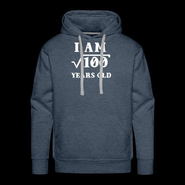 I Am Root 100 10 Years Old Tee Shirts Gifts - Men's Premium Hoodie