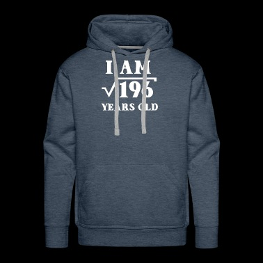 I Am Root 196 14 Years Old Tee Shirts Gifts - Men's Premium Hoodie