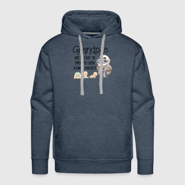 Cute Grandpa Granddad Grandfather Shirts Gifts - Men's Premium Hoodie