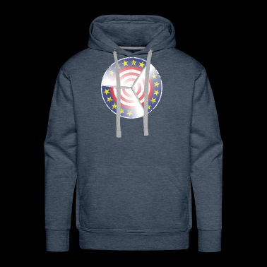 Great Wind Energy Environmental Activists Design - Men's Premium Hoodie