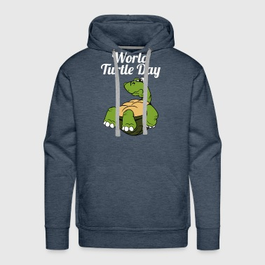 World Turtle Day Tortoise - Men's Premium Hoodie