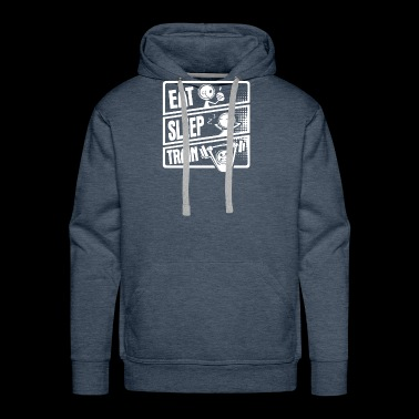 Eat Sleep Train - Men's Premium Hoodie