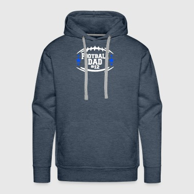 Football Dad - Men's Premium Hoodie
