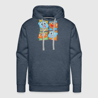 New Design Gumball Darwin Best Seller - Men's Premium Hoodie