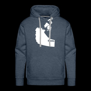 from Nortwest Territories - Men's Premium Hoodie