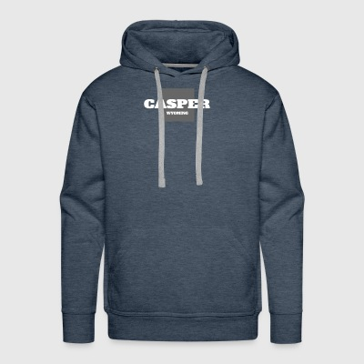 WYOMING CASPER US STATE EDITION - Men's Premium Hoodie