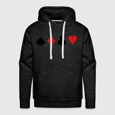 Card Game - Playind Card - Men's Premium Hoodie