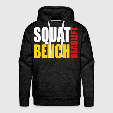 Squat Bench Deadlift - Men's Premium Hoodie