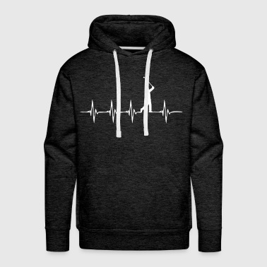 Heartbeat Golf - Men's Premium Hoodie