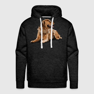 Golden Retriever - Men's Premium Hoodie