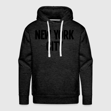 new york city - by 80kingz - Men's Premium Hoodie