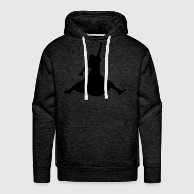 The Jumping Messiah Hoody - Men's Premium Hoodie