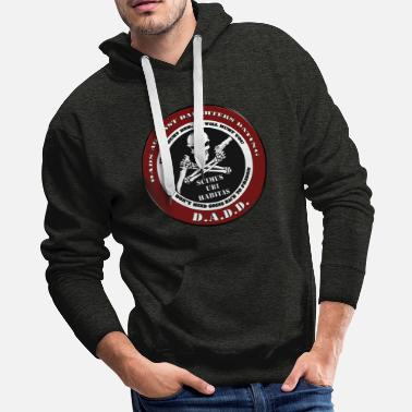 Against Dad's Against Daughters Dating... - Men's Premium Hoodie
