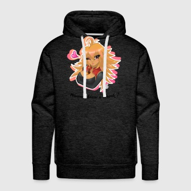 Wanna Share a Drink? - Men's Premium Hoodie