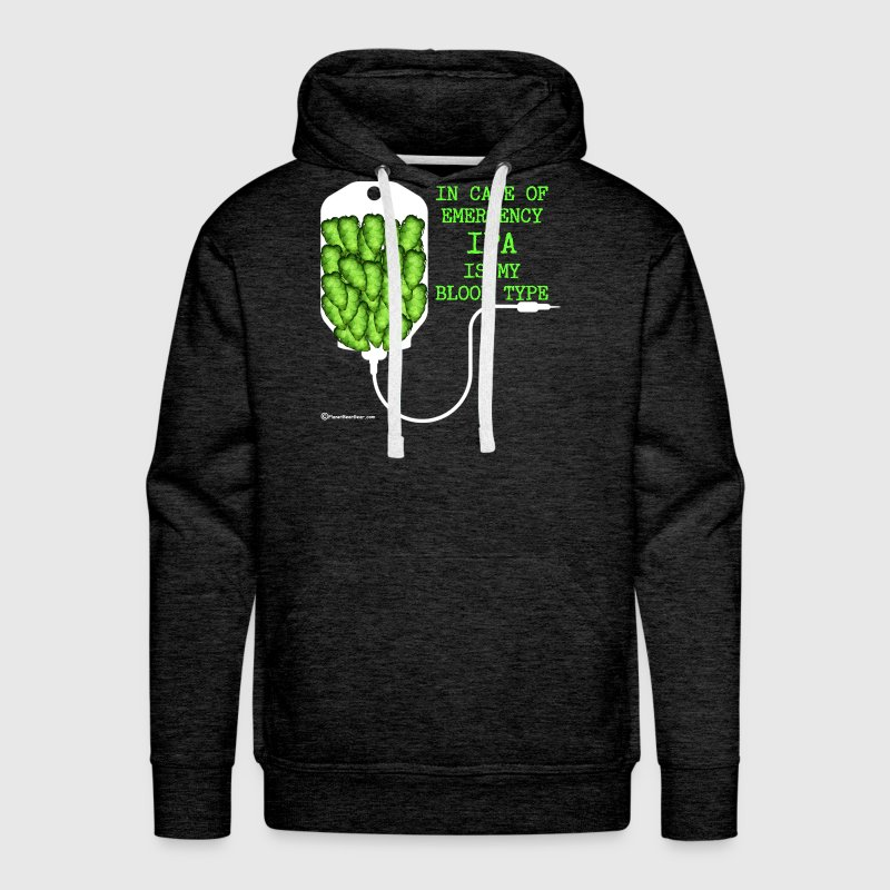 IPA Is My Blood Type - Men's Premium Hoodie