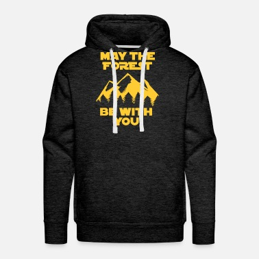 Vader May the Force be with you Geschenk Förster Wandern - Men's Premium Hoodie