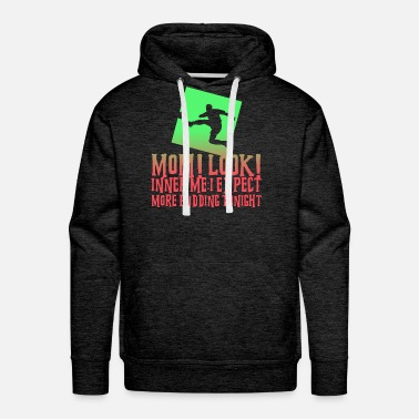 Football Team More Pudding Tonight Soccer Fußball Lustig - Men's Premium Hoodie