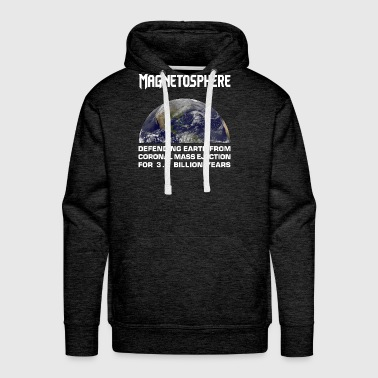 Magnetosphere Defending from Coronal Mass Ejection - Men's Premium Hoodie