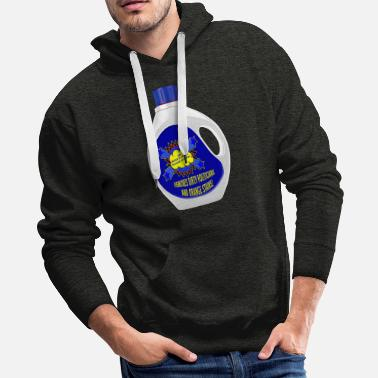 Political Issues Voter's Choice Political Detergent - Men's Premium Hoodie