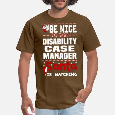 Disabled Disability Case Manager - Men's T-Shirt