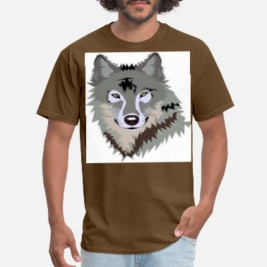 Solitary SOLITARY WOLF - Men's T-Shirt
