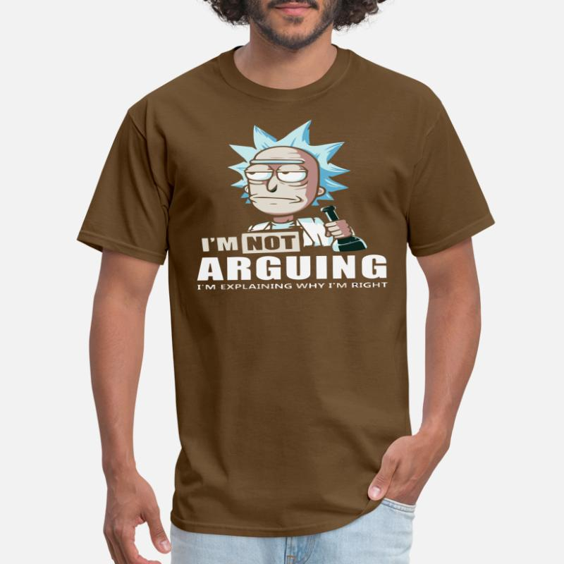 I/'M NOT ARGUEING funny t shirt mens gift presant joke Mens Womens S-XXL