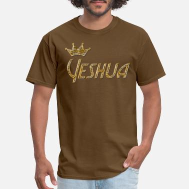 Yeshua In Hebrew Cool Christian Hebrew Yeshua - Men's T-Shirt