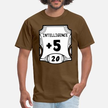 Dnd All of the Intelligence - Men's T-Shirt