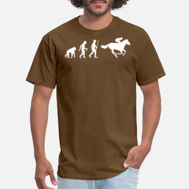 Jokey Jokey Horse Racing Evolution - Men's T-Shirt