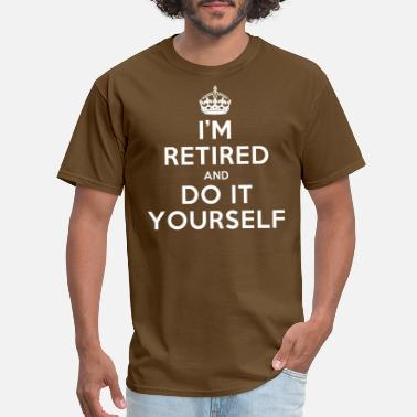 Retirement funny_retired - Men's T-Shirt
