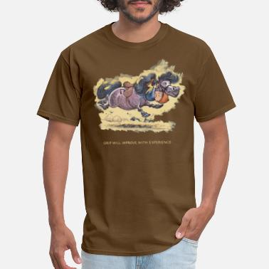 Norman Thelwell Thelwell Grip will improve - Men's T-Shirt