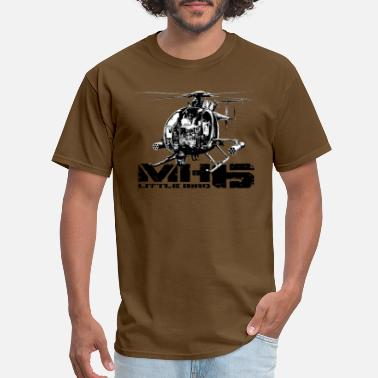 Bird MH-6 Little Bird - Men's T-Shirt