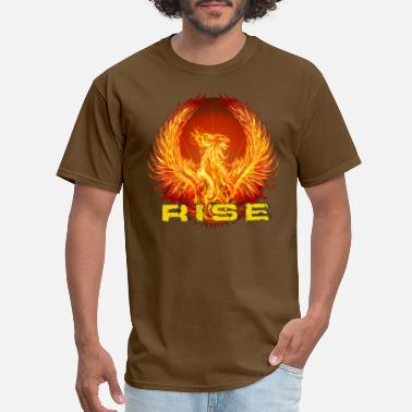 Heart Over Mind rise2 - Men's T-Shirt