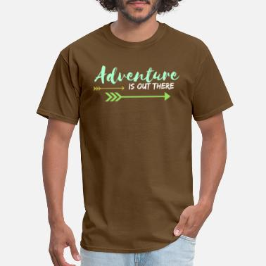 Pixar Up Adventure Is Out There - Men's T-Shirt
